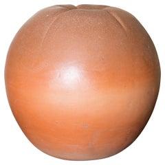 Large Terra Cotta Peach