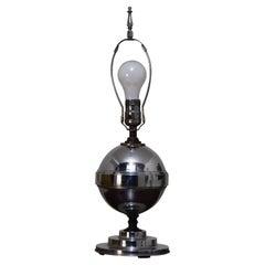 Streamlined Moderne Table Lamp Attributed to KEM Weber