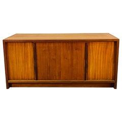 Large Danish Style Teak Console Table