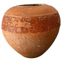 Terracotta Pot from Yucatan, Mexico, Circa 1930's