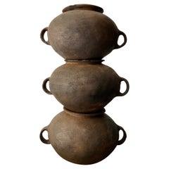 Ceramic Water Pots from Puebla, Mexico