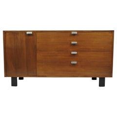 George Nelson for Herman Miller Basic Series Walnut Dresser Cabinet