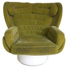 Elda Swivel Lounge Chair by Joe Colombo