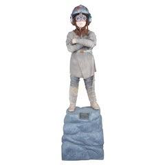 1999 Life Size Fiberglass Anakin Skywalker Statue JC Penney Star Wars Sculpture