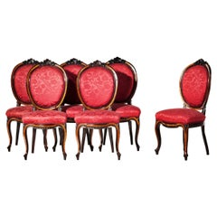 Six Portuguese Chairs of the 19th Century