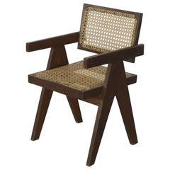 Pierre Jeanneret Office Cane Chair PJ-SI-28-A 'Authentic'