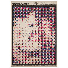 Blow-Up Original Polish Film Poster, Waldemar Swierzy, R1987