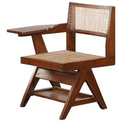 Pierre Jeanneret Student Chair / Authentic Mid-Century Modern PJ-SI-26-A