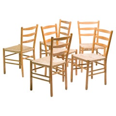 Six Dining Chairs by Cees Braakman