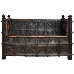 18th Century English Bench/Settee