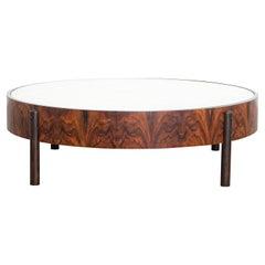 Round Adi Coffee Table, 2019, 60's-Inspired, Brazilian Design