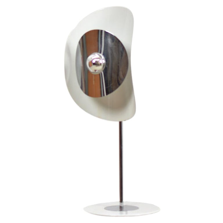 Modernist Table Lamp by Brevetatto, Italy, 1970s For Sale