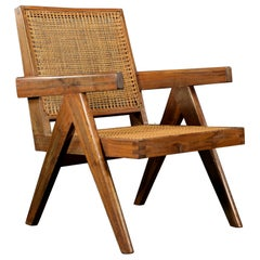 Pierre Jeanneret Easy Chair Authentic Mid-Century Modern PJ-SI-29-A