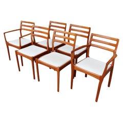 Midcentury Danish Modern Teak Dining Chairs