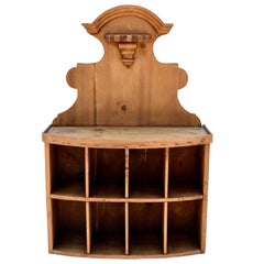 Pine Wall-Mounted Guest Mailboxl