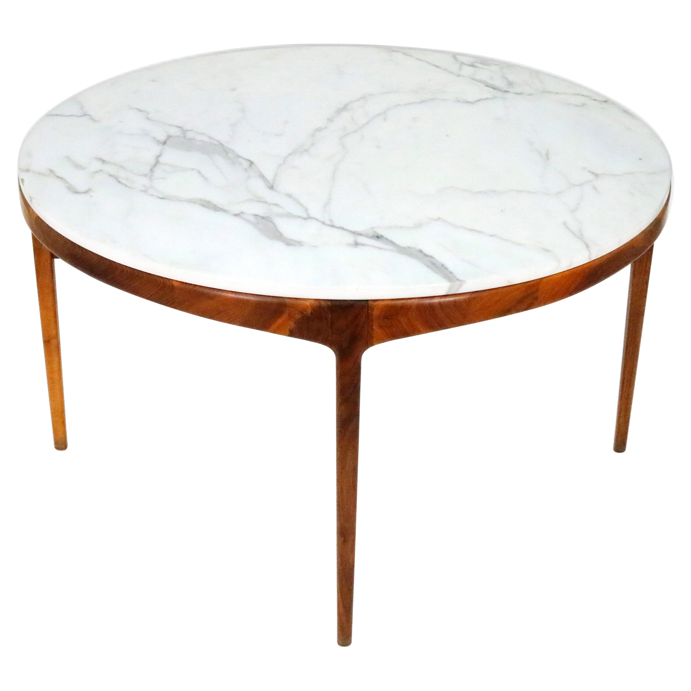 Marble Top Dining Table, Lane 'Rhythm' Series, 1960s