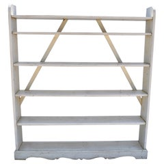 Painted Pine Kitchen or Utility shelves