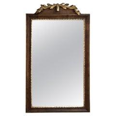 Continental Gilt Walnut Mirror