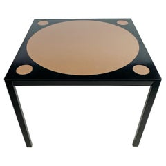 Edward Wormley for Dunbar Leather Top Lacquered Game Table
