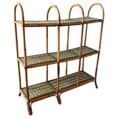 Vintage French Pastry Shelves