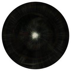 Ann Demeulemeester for Serax Dé Dinner Plate in Black / Off White