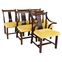Edward Wormley for Dunbar Mid Century Dining Chairs, Set of 6