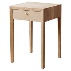 Richard Watson Side Table in Oak