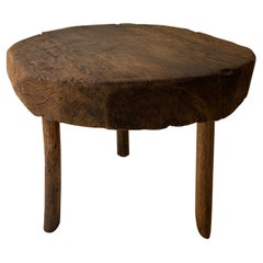 Hardwood Table from the Yucatan Peninsula, Mexico, Circa Early 20th Century