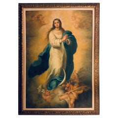 The Assumption Of The Virgin Mary Oil Painting