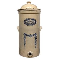 Very Unique Antique Water Filter, 19th Century