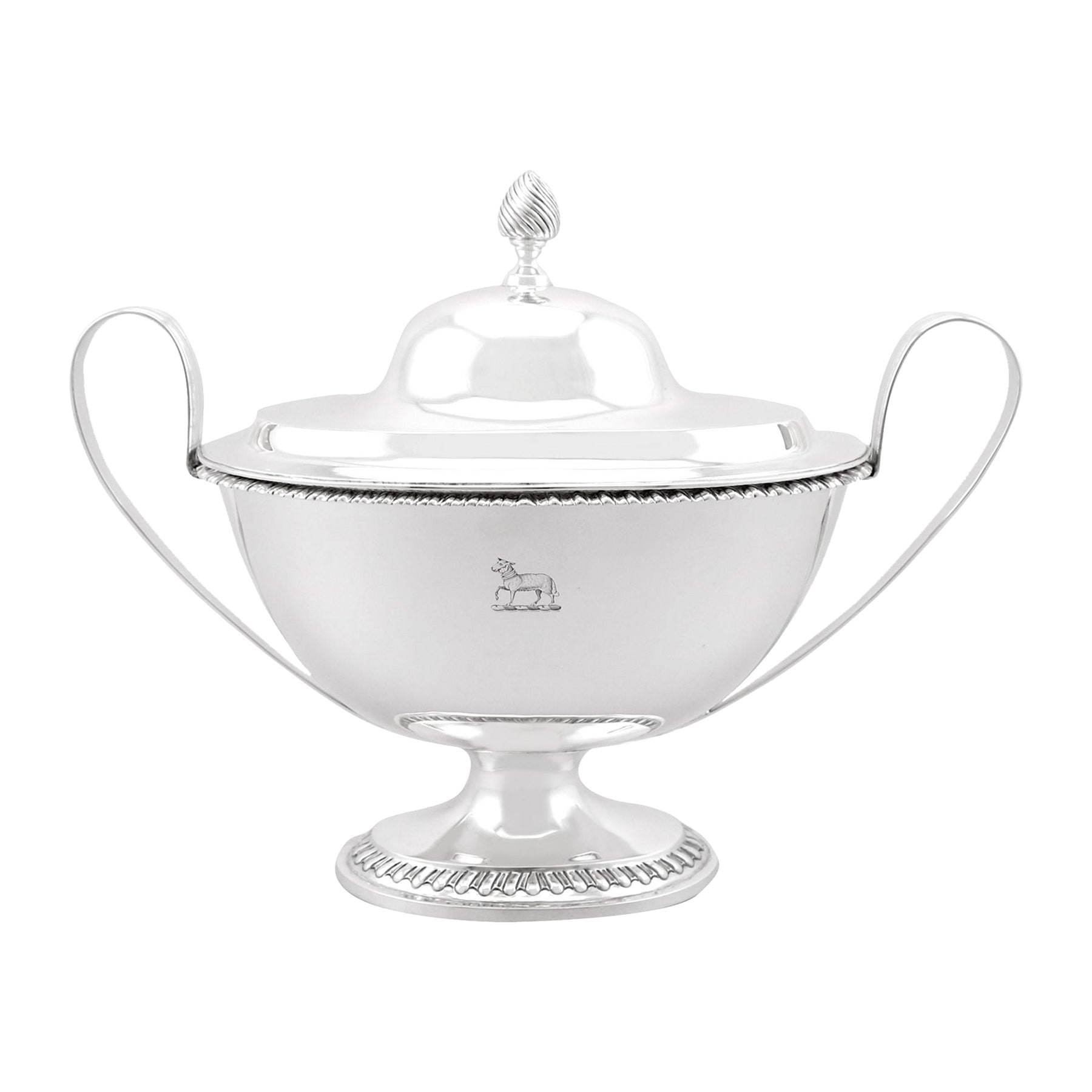 Antique Victorian Sterling Silver Tureen