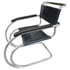 Ludwig Mies van der Rohe MR20 Cantilevered Arm Chair