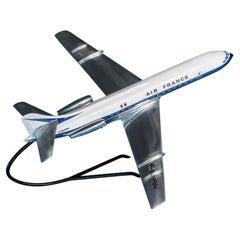 Air France Caravelle Jet Airplane Model, circa 1960