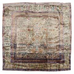 Silk Antique Mohtasham Kashan Rug