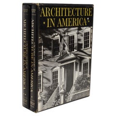 Pictorial History of Architecture in America by G. E. Kidder Smith, 1st Ed