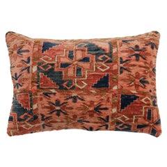 Lumbar Antique Turkeman Rug Pillow