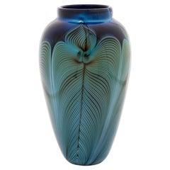 Randy Strong Contemporary Art Glass Vase