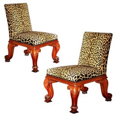 Antique Regency Mahogany Chairs by Gillows