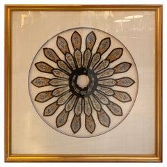 19th Century Chinese Framed Needlework in Silk