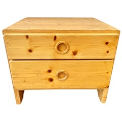 Charlotte Perriand Bedside Table for Les Arcs