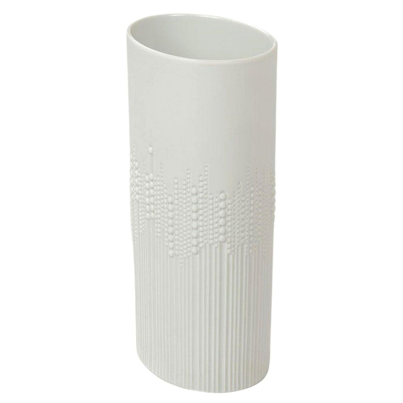 German Porcelain Vase by Tapio Wirkkala for Rosenthal, 1980s