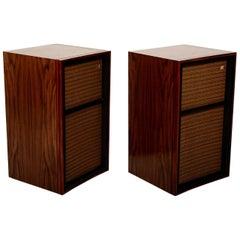 Mid Century Modern Pair of Wharfedale W60 Speakers