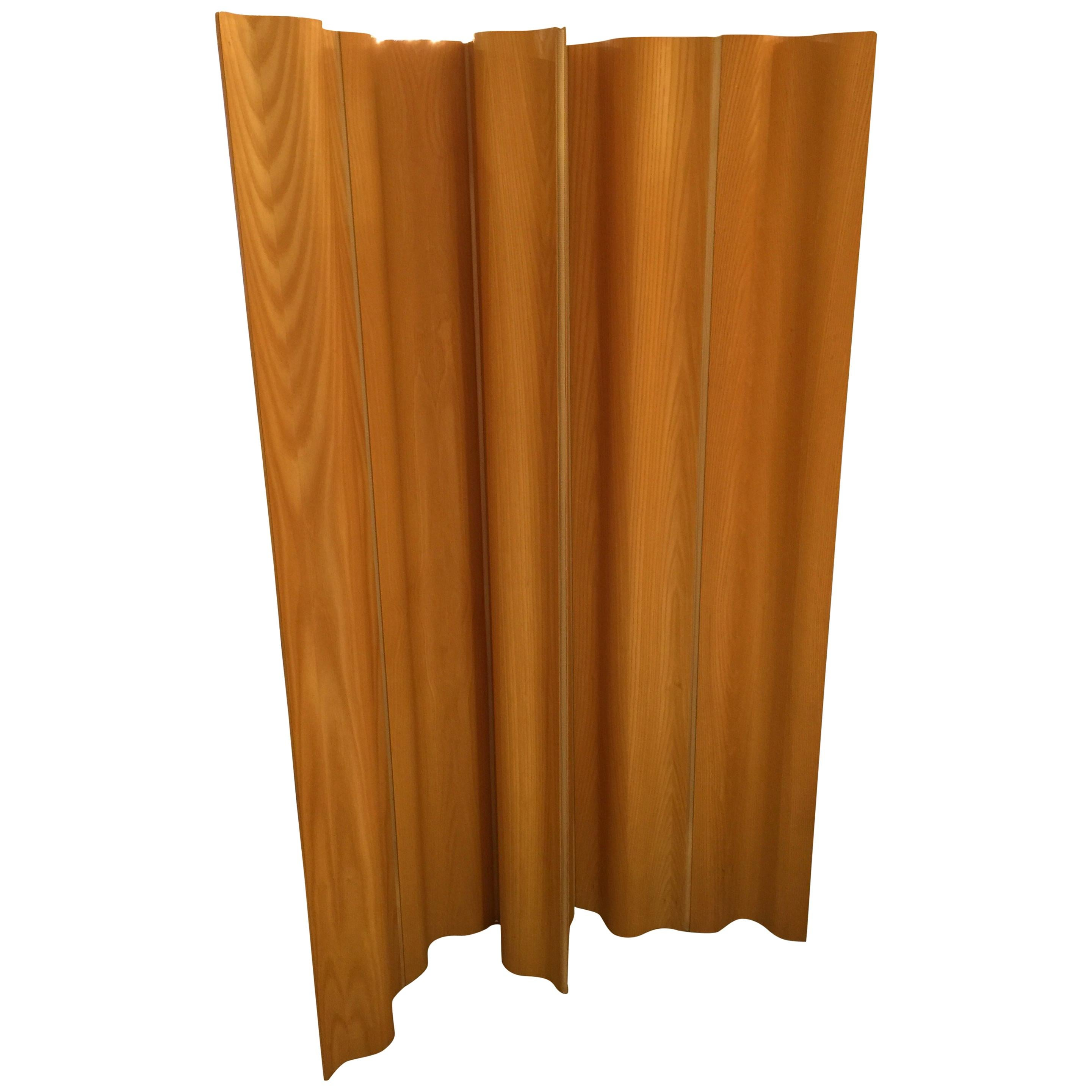 Vintage Plywood Screen by Charles & Ray Eames