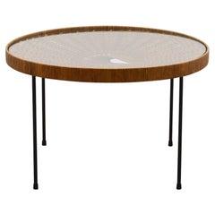 Design Rattan Coffee / Side Table 60s