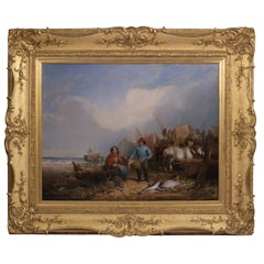 19th Century Landscape Painting by William Shayer Snr 'British', 1787-1879