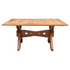 Dinner Table, Wood, circa 1960, France