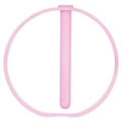Opaque Pink Gaia Vase by Valeria Vasi