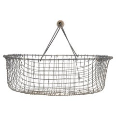 1960s Belgian Metal Basket