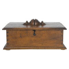 Antique French Wooden Box