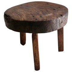 Rustic Table From The Yucatan Peninsula, Mexico, Circa Early 20th Century